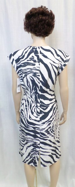 Lafayette 148 New York short dress Multi Animal Print Silk on Tradesy Image 2