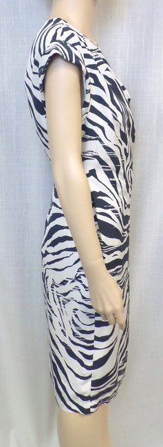 Lafayette 148 New York short dress Multi Animal Print Silk on Tradesy Image 4