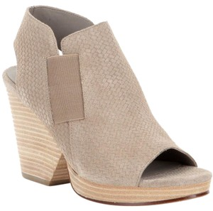 Eileen Fisher Current Plus Ankle Earth Weave Beige Boots