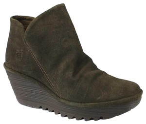 FLY London Current Yip Bootie olive Green Boots