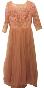 Chi Chi London Lace Tulle Maxi Modest Dress
