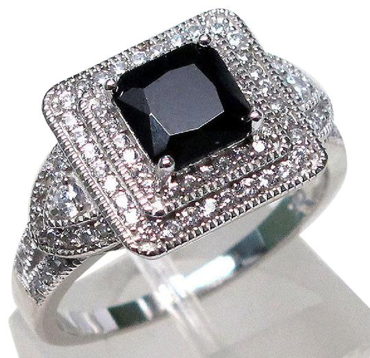 Preload https://img-static.tradesy.com/item/20464567/925-black-stunning-onyx-and-white-topaz-square-cocktail-size-8-ring-0-1-540-540.jpg