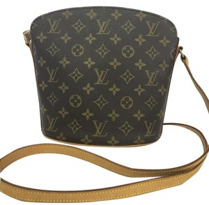 Louis Vuitton Lv Monogram Drouot Canvas Shoulder Bag