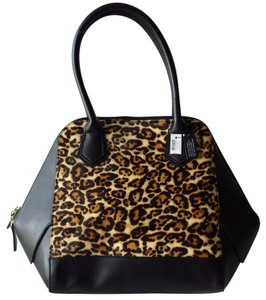 White House | Black Market Animal Print Satchel