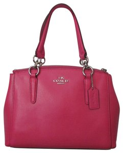 Coach New With Tag Satchel in AMARANTH