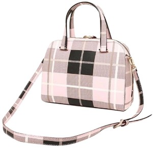 Kate Spade Satchel in Light pink, white, black