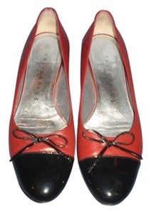 Caligarius Made In Italy RED/BLACK Pumps