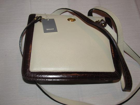 Bally Timeless Style New Mint /New Condition Multiple Compartment Leather/Crocodile Shoulder Bag Image 1