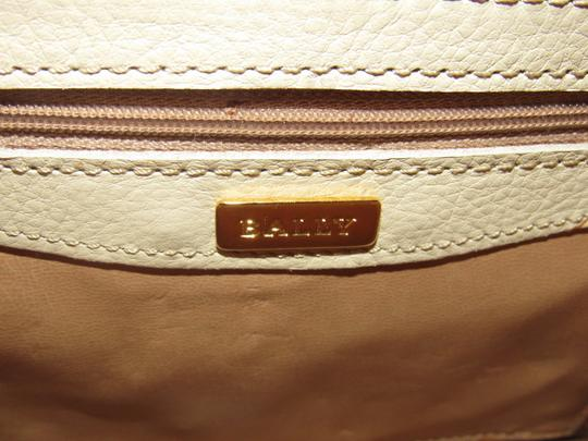 Bally Timeless Style New Mint /New Condition Multiple Compartment Leather/Crocodile Shoulder Bag Image 11