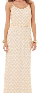 gold Maxi Dress by Lilly Pulitzer