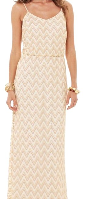 gold Maxi Dress by Lilly Pulitzer Tory Burch Bcbg Alice + Olivia Rebecca Taylor Image 4