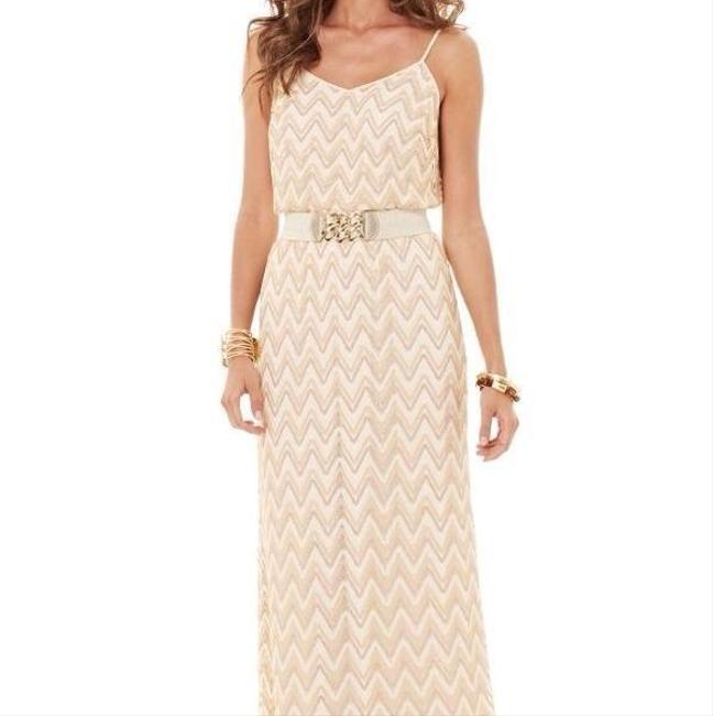 gold Maxi Dress by Lilly Pulitzer Tory Burch Bcbg Alice + Olivia Rebecca Taylor Image 7
