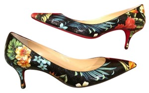 Christian Louboutin Heels Kitten Hawaii Multi Pumps