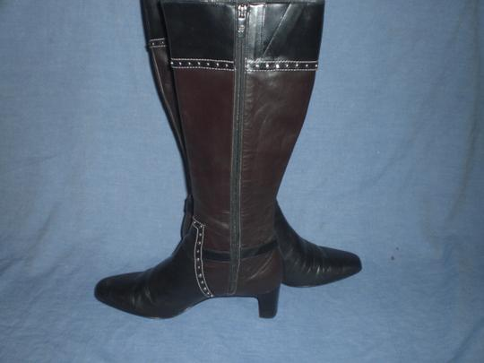 Brighton Black and brown with silver hardware Boots Image 7