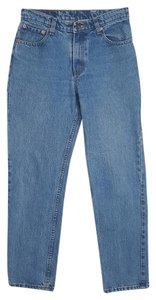 Jordache High Rise Straight Leg Jeans-Light Wash