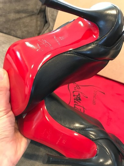 Christian Louboutin Ankle Mercura Wing Black Boots Image 3