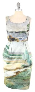 Anthropologie short dress Pastel Countryside Cotton Pegged Skirt Odille on Tradesy