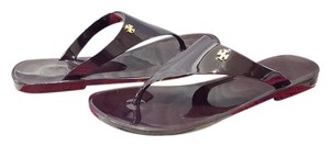 Tory Burch Speer Jelly Cabernet Sandals