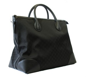 Gucci Travel Tote Travel 374226 Tote Black Travel Bag
