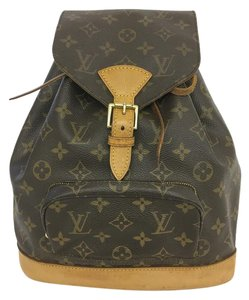 Louis Vuitton Lv Monogram Montsouris Mm Backpack