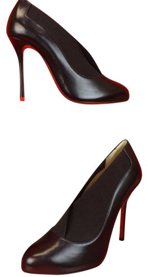 Preload https://img-static.tradesy.com/item/20465490/christian-louboutin-black-toot-couverte-100-elasticized-leather-booties-pumps-size-eu-395-approx-us-0-1-540-540.jpg