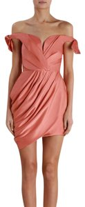 ZIMMERMANN Winsome Drape Cocktail Dress