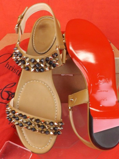 Christian Louboutin Brown Sandals Image 1