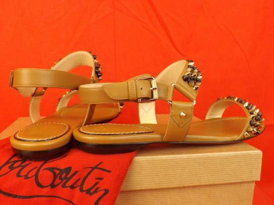Christian Louboutin Brown Sandals Image 2