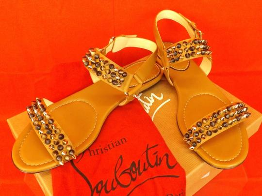 Christian Louboutin Brown Sandals Image 4