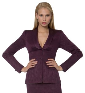 Miss Pearl Silk/Wool Pique Suit Jacket