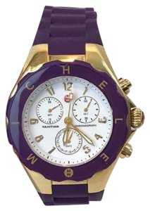 Michele MICHELE Purple & Gold Jelly Watch!