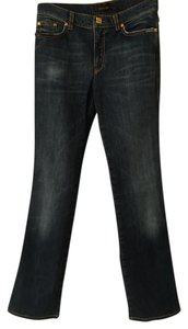 Roberto Cavalli Straight Leg Jeans-Medium Wash