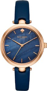 Kate Spade Kate Spade New York Women's Navy Leather Holland Watch KSW1157