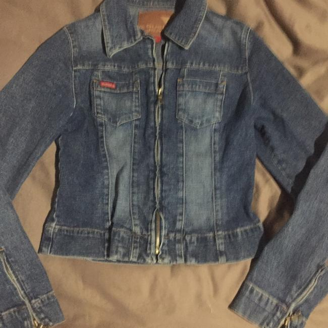 Guess Womens Jean Jacket Image 1