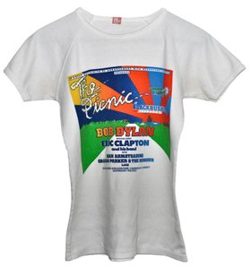 Genuine Vintage from 1978 Concert T Shirt White