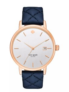 Kate Spade Kate Spade New York Women's Navy Leather Watch KSW1160