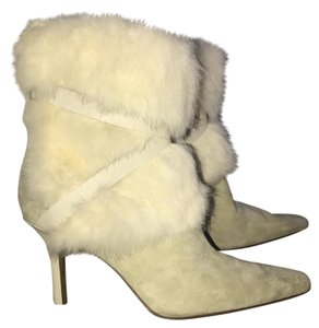 Nine West Ivory White Boots