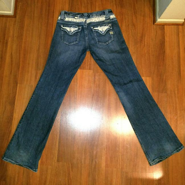 Miss Me Boot Cut Jeans-Distressed Image 3