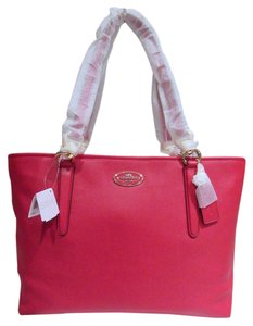 Coach Chicago Ellis Currant Tote in RED