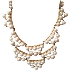 Stella & Dot Frances Pearl Necklace