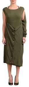 Maison Margiela short dress Green on Tradesy