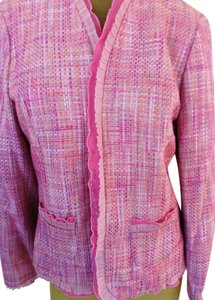 Valerie Stevens Fancy Church Office Career Pads Pinks Jacket