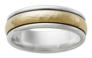 James Avery Men's Hammered Simplicity Wedding Band