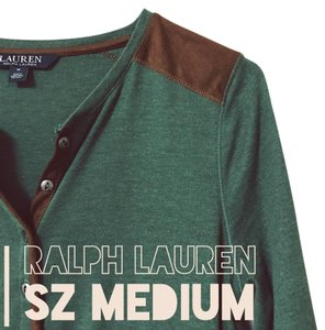 Ralph Lauren T Shirt Green, Brown