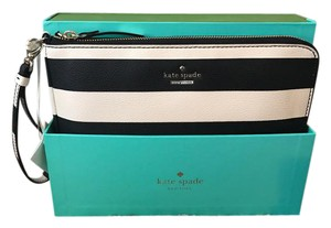 Kate Spade Purse Black and white Clutch