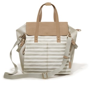 Skip Hop Oyster Stripe Diaper Bag