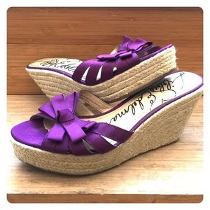 Sam Edelman Espadrille Bow purple Wedges
