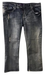 Vigoss Capri/Cropped Denim-Distressed