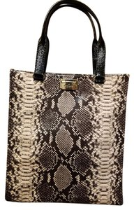 Kate Spade Tote in Snakeskin Black, Grey, Cream, Beige
