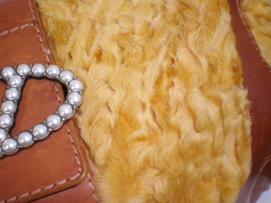 Valentino Large Fall Winter Fur Hobo Bag Image 3